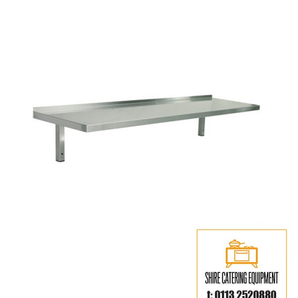 Stainless Steel Wall Shelf 1200mm