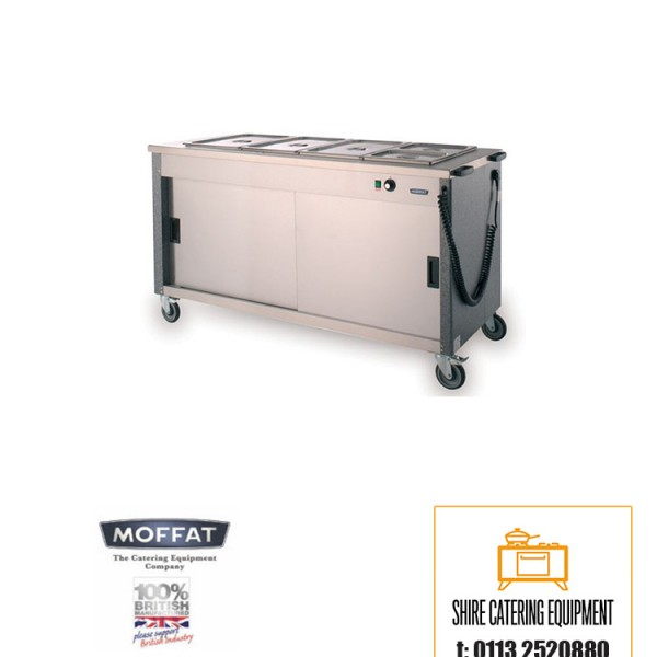 E r moffat 4fbm focus hot cupboard bain marie for Cuisson four bain marie